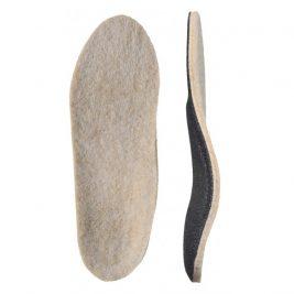 Детские ортопедические стельки с покрытием из натуральной шерсти Зима детские