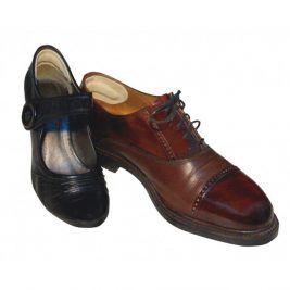 Напяточники кожаные для корректировки размера обуви и защиты от натирания