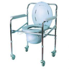 Кресло-туалет складное со спинкой Ergoforce E 0805
