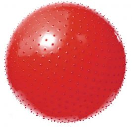 Фитбол (гимнастический мяч) массажный игольчатый VEGA-602/55, 55 см