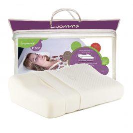Подушка ортопедическая Luomma с эффектом памяти, анатомическая LumF-502