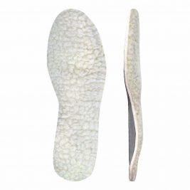 Мягкие ортопедические стельки с покрытием из натуральной шерсти Зимний комфорт