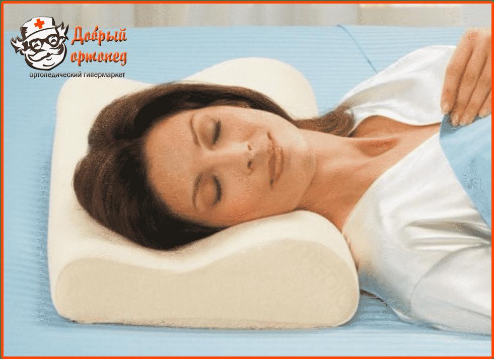 Своими руками ортопедическая подушка