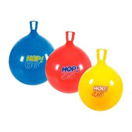 Фитбол (гимнастический мяч) с ручкой Orto Hop