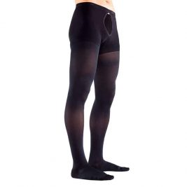 Колготки компрессионные Orto 124 для мужчин, 2 класс, закрытый носок, с мультифиброй, плотные