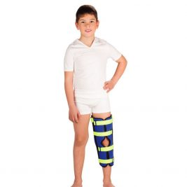 Коленный детский бандаж для полной фиксации Тривес Т-8535