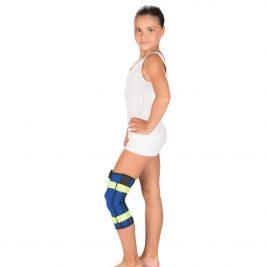 Наколенный детский бандаж с металлическими шарнирами Тривес Т-8532