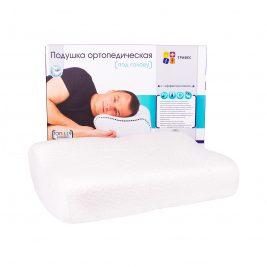 Подушка ортопедическая с эффектом памяти Тривес ТОП-119L