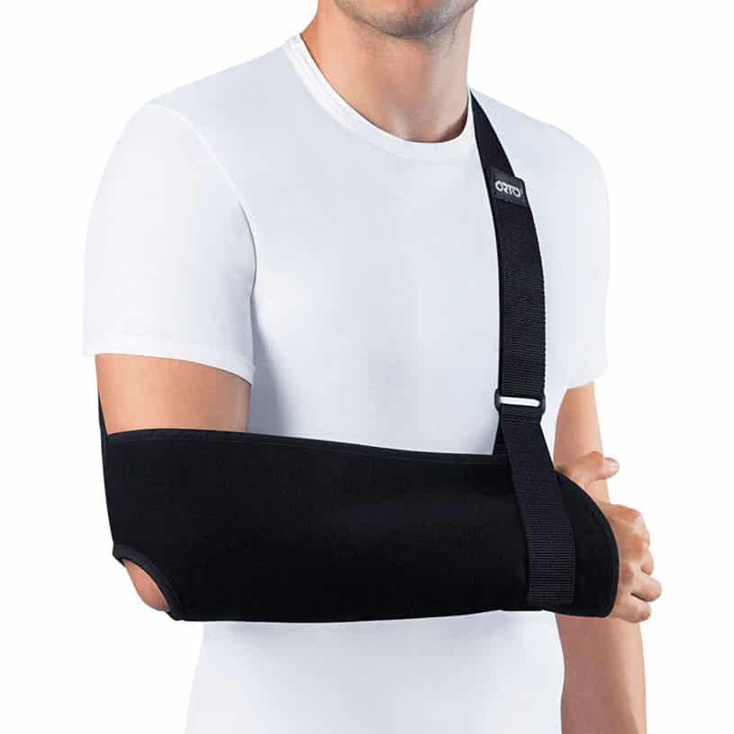 Поддержка для руки при переломе своими руками 111