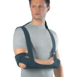 Бандаж для плечевого сустава с ребрами жесткости и поддерживающей повязкой Orto TSU 233