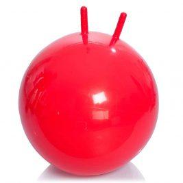 Детский гимнастический мяч с рожками М-355