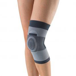 Компрессионный коленный бандаж с силиконовым кольцом Тривес Т-8520