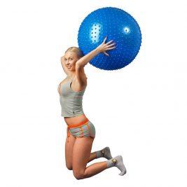 Мяч для фитнеса с шипами L 0575b