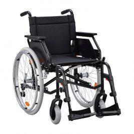 Кресло-коляска с откидными подлокотниками и съемными подножками TN-501