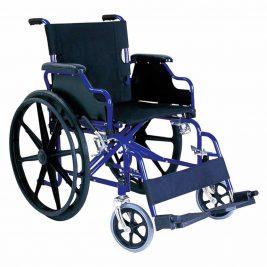 Кресло-коляска с откидными подлокотниками и съемными подножками, складная Тривес CA931B