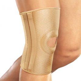 Бандаж на колено со спиральными ребрами жесткости Orlett RKN-103(M)