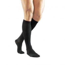 Компрессионные гольфы мужские VENOTEKS 1C112 1 класс, закрытый носок, черные