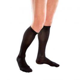 Компрессионные гольфы мужские VENOTEKS 2C112 2 класс, закрытый носок, черные