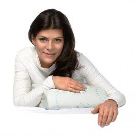 Подушка ортопедическая под голову для путешествий с эффектом памяти TRELAX П07 RESPECTA COMPACT