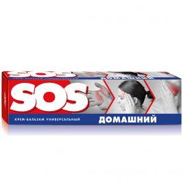 Крем-бальзам для тела универсальный SOS домашний