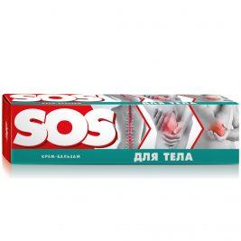 Крем-бальзам от боли в суставах SOS для тела
