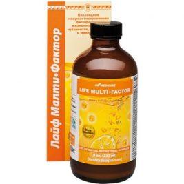 Коллоидный активированный фитокомплекс нутриентов, витаминов и минералов Life Multi Factor