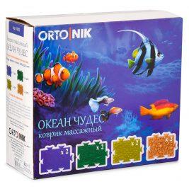 Детский ортопедический коврик Орто.Ник 1002 Океан чудес