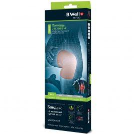 Бандаж на коленный сустав, усиленный B.Well rehab W-332