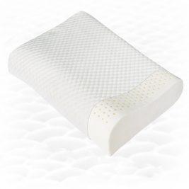 Эргономичная ортопедическая подушка из натурального латекса Тривес ТОП-202