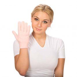 Гелевые увлажняющие перчатки для рук СТ-75