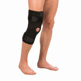Удлиненный коленный бандаж с полицентрическими шарнирами Тривес Т-8516