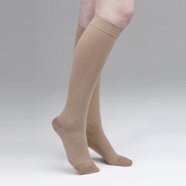 Чулки компрессионные до колена ЧККВ-КМ2 2 класс компрессии, закрытый носок