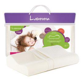 Подушка детская ортопедическая под голову с эффектом памяти Luomma Lum F-523