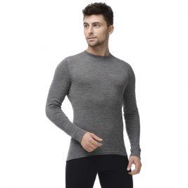 Термобелье футболка мужская с длинным рукавом Norveg Soft 14SM1RLRU