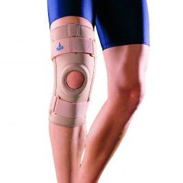 Ортопедический коленный ортез с боковыми шинами OPPO Medical 1030