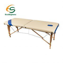 Массажный стол переносной EcoSapiens Simplex S2500 двухсекционный на основе из бука
