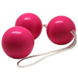 Вагинальные шарики Eroticon тройные 38 мм
