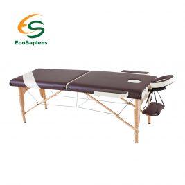 Массажный стол переносной EcoSapiens Wellness 2500 двухсекционный с аксессуарами