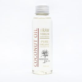 Натуральное кокосовое масло холодного отжима 100 мл