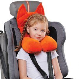 Подушка ортопедическая дорожная для детей от 4 до 8 лет Trelax Autofox А303 с подголовником