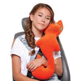 Подушка ортопедическая дорожная для детей от 8 лет и взрослых Trelax Autofox А308