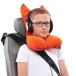 Подушка ортопедическая дорожная для детей от 8 лет Trelax Autofox А304 с подголовником