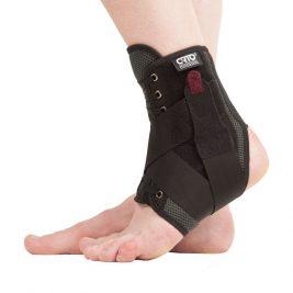 Бандаж с фиксирующими ремнями и шнуровкой на голеностопный сустав Orto BCA 501
