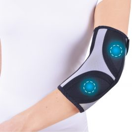 Бандаж для коленного и локтевого сустава Крейт А-400 с биомагнитными аппликаторами